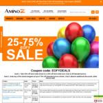 25% off Club Z / 20% off Non-Club Z - Store-Wide + C4 Extreme $24.95, Grenade bars $14.95/box @ Amino Z