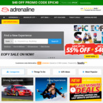Extra $40 off Purchases @ Adrenaline Australia for Orders over $199