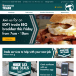Free Tradie BBQ Breakfast Friday (28/6) 7am till 10am @ Bunnings