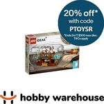 LEGO 21313 Ideas Ship in a Bottle $75.92 Delivered @ Hobby Warehouse eBay