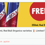 Free - 250ml Red Bull Organics Variety @ 7-Eleven via Fuel App