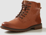 Men's Tan Military Boots $29.95 (from $119) + Shipping (Free C&C) @ Rivers (Member Login required)