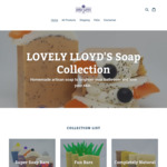 30% off Storewide + $8 Delivery (up to 1kg) @ Lovely Lloyd's Soap Collection