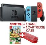 Nintendo Switch Neon or Grey Console (2019 Model) + Fun! Fun! Animal Park + Cartridge Case $398.65 + Delivery @ EB Games eBay