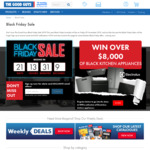 Win a Suite of Electrolux Black Kitchen Appliances Worth $8,343 from The Good Guys