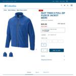 Fast Trek II Full Zip Fleece Jacket Men Size XXL $20 (80% off RRP) + Delivery @ Columbia Sportswear