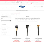 80% off Artiste Brush Collection (Free Postage if You Spend over $80) @ Manicare
