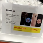 [VIC] Samsung Galaxy S9+ 256GB Black/Gold $699.97 @ Costco Ringwood (Membership Required)