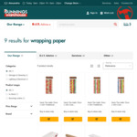Christmas Wrapping Paper - 15M Rolls for $1 @ Bunnings