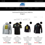 2019 Richmond Football Club - Save up to $90 on Mens, Womens & Kids Apparel (+ $15 Shipping or $0 C+C Perth) @ Jim Kidd Sports