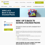 Win 1 of 5 Back-to-School Packs Worth $374.90 from GPT Management Holdings [VIC]