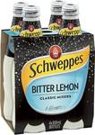 50% off Schweppes Bitter Lemon 4x300ml $2.90 (Was $5.80) @ Woolworths