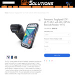 Panasonic Toughpad FZ-F1 (4.7') Mk1 $440 (Save 78%) Delivered @ CGB Solutions