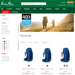 40% off Osprey Aether/Ariel Hiking Packs, Talon/Tempest Day Packs e.g. Aether 60L $251.97 Delivered @ Paddy Pallin