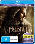 Hobbit The Desolation of Smaug, and other Titles in 3D Blu-Ray/ Blu-Ray/ Ultraviolet $5 for Two + Delivery (Free C&C) @ JB Hi-Fi