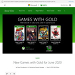 [XB1, XB360] Xbox Games with Gold June 2020 - Shantae and The Pirate's Curse, Coffee Talk, Destroy All Humans, Sine Mora