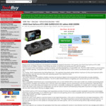 [Back Order] ASUS Dual GeForce RTX 2080 SUPER EVO OC $1131.35 + Shipping @ Techbuy