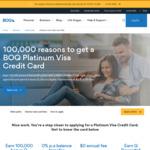Platinum Visa Credit Card, 0% BT 20 Months, $0 Annual Fee 1st Year ($129 after) @ BOQ