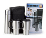 FineLife 4pc S/Steel Travel Mug Set around $18 Delivered