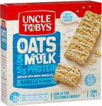 [Backorder] Uncle Tobys Milk & Oats Vanilla Muesli Bars 5 Pack 175g $3 + Delivery ($0 with Prime/ $39 Spend) @ Amazon AU