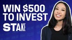 Win $500AUD to Trade on Stake