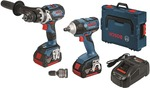 Bosch 2pc Combo Kit (Hammer Drill, Impact Wrench, 2x 6.0Ah Batteries) + Bonus Rotary Hammer $499 Delivered @ Blackwoods