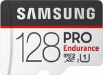 Samsung PRO Endurance MicroSDXC Card with Adapter 128GB $45.39 + Delivery (Free with Prime & $49 Spend) @ Amazon US via AU