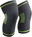 Sable Knee Brace Support Compression Sleeves $8.99 + Post (Free $39+/Prime) @ SunValley @ Amazon