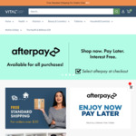$10 off Coupon Code Entire Online Pharmacy (Free Shipping over $50) @ Vital Pharmacy Supplies