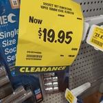 [WA, Clearance] Kinchrome Socket Set 10 Piece 10mm Set $19.95 (50% off) @ Bunnings, Bayswater