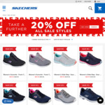 Further 20% off All Sale Styles - Skechers