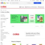 [eBay Plus] 10% off Coles eBay (Min Spend $90)