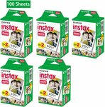 Fujifilm Instax Mini 100 Sheets $74.76 Delivered from Gearbite