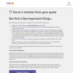 $100 eGift Card with Comprehensive Car Insurance @ ING