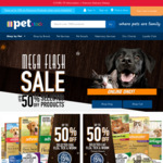 50% off Flea Products (E.g. Advantage 6 Pack from $34.50, Advantix 6 Pack from $54) Free Shiping Order > $19.99 @ PETstock