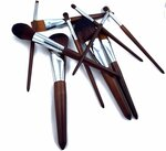 10 Pcs Black/Brown Professional Makeup Brushes Set 19% off $29.90 + Delivery @ Sleek Touch