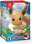 [Switch] Pokemon Let's Go, Eevee! + Poke Ball Plus Pack $80.51 Delivered @ Toby Deals AU