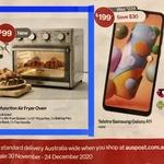 Mistral 25 Litre Multi-Function Air Fryer Oven $99 Delivered (or In-Store) @ Australia Post