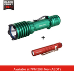 40% Off Olight Warrior X Pro Green Torch + I3t EOS Red AA Torch $113.14 + Free Shipping + Free Gift @ Olight