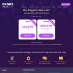 Drops Lifetime Premium - Black Friday  / Cyber Week Discount (Lifetime $109.99 AUD)