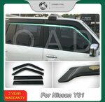 Weather Shields Fits Nissan Patrol Y60, Y61, Y62 Models from $49 Delivered @ Orientalautodecoration