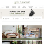 [NSW, VIC] Boxing Day Sale - Free Delivery To Metro Sydney, Melbourne with Min Spend $1000 @ B2C Furniture