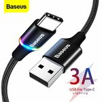 Baseus Braided USB to Type-C Cables From US$0.69 (~A$0.91) @ BASEUS Official Store AliExpress