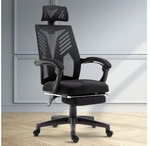 Artiss Home Office Chair Matrix Gaming Chair Black Recliner $116 (Free Delivery in-Cart) @ One Shop Kogan