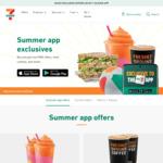 7-Eleven Summer App Exclusives: $5 Sandwich & Pump Water 750ml, $4 Traveller's Pizza & Coke 375ml, $2 Coffee & Banana Bread