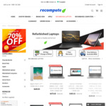 $100 off Selected Refurbished Products & 5% off Storewide @ Recompute