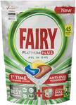 1/2 Price Fairy Platinum Plus Dishwasher Tablets Lemon 45 Pack $17.50 ($0.39 Per Tablet) @ Woolworths