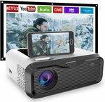 JIEGAO Portable Wireless Mini Projector HD $161.93 (Was $399) Delivered @ SQPFTW-AU via Amazon AU