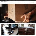 15% off Online Storewide (Excluding Subscription) + $5 Delivery ($0 with $35 Spend) @ Kai Coffee Specialty Coffee Roasters