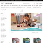 20% off LEGO + Delivery ($0 C&C) @ David Jones